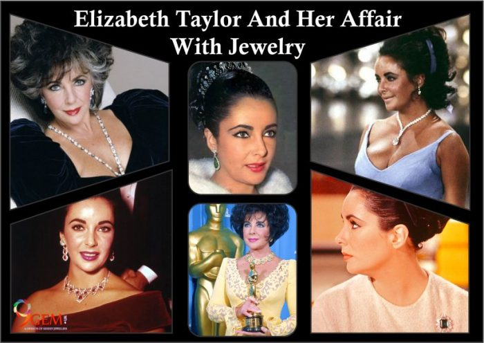 Elizabeth Taylor love with jewellery