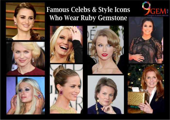 Famous Celebs & Style Icons Who Wear Ruby Gemstone