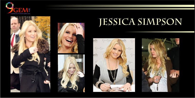 Jessica Simpson Ruby Gemstone Ring
